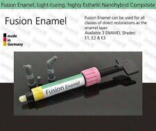 E3 Enamel, Light Curing Dental Nano Reinforced Anterior Composite Restorative 4g