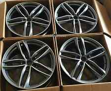 "22"" Wheels For Audi Q7 VW Touareg 22x9.5 +30 5x130 Rims Set (4)"