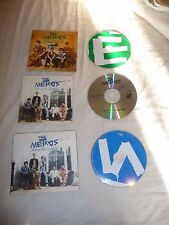 3 x The Metros - TALK ABOUT IT & LAST OF THE LOOKERS X 2 PROMO CDS