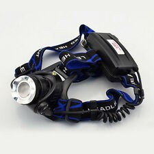 CREE R2 LED Headlamp Headlight Flashlight head light lamp 18650 CUBE