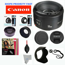 Canon EF 50 mm F/1.8 II Lens +FISHEYE LENS+ ZOOM LENS FOR CANON EOS REBEL T1 T2I