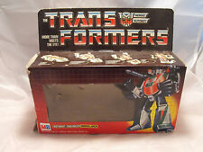 TRANSFORMERS GENERATION 1, G1 AUTOBOT FIGURE WHEELJACK, RARE MB EMPTY BOX,