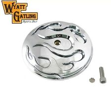 Harley Davidson Flame Chrome Air Cleaner Cover FLHX Street Glide Road King