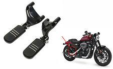 Sozius Fußrasten Fussrasten mit Halter Für Harley Sportster XL 883 1200 04-15