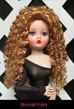 "Doll Wig, Monique Gold ""Mallory"" size 8/9 in Med Gold Blonde - Amazing Flip Wig!"