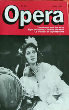 OPERA MAGAZINE, JULY 1987, TEMIRKANOV & KIROC BLYTH ON SCOTTO, CRICHON ON RAVEL