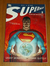 SUPERMAN ALL STAR VOL 2 MORRISON QUITELEY GRANT DC COMICS   9781401218607