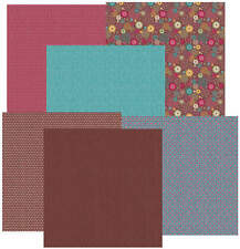 Scrapbook Paper 12 x 12 Kaleidoscope double sided by HOTP