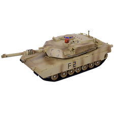 Goplus 1:14 MIA2 Abrams Remote Control RC Battle Tank Military Infrared Shooting