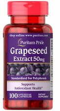 Puritan's Pride Health Nutrition Grapeseed Extract 100 mg x 100 Capsules