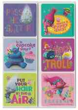 "30 Trolls Movie Glitter Stickers, Assorted 2.5""x2.5"" each, Party Favors"