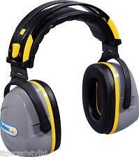 Delta Plus Venitex Yas Marina Grey/ Yellow SNR 32dB Ear Defenders Ear Protectors
