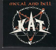 KAT - METAL AND HELL TOP RARE POLISH OOP CD KOSTRZEWSKI TURBO VADER BEHEMOTH TSA