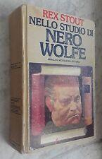 Rex Stout NELLO STUDIO DI NERO WOLFE II edizione OMNIBUS gialli