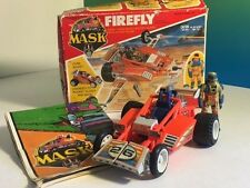 VINTAGE M.A.S.K. 1986 KENNER MASK TOY VEHICLE BOX FIREFLY JULIO LOPEZ DUNE BUGGY