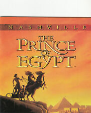 The Prince of Egypt:Nashville-1998-Soundtrack-17 Track-CD