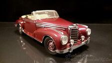 Franklin Mint 1957 Mercedes-Benz 300 SC Roadster - Burgundy