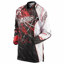 Answer Racing Wired James Stewart MX Jersey Motorbike Gear Red Black $59.95