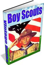38 BOY SCOUT BOOKS on DVD - vintage, scouts, camping, boys, outdoors, camping