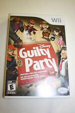 Disney Guilty Party (Nintendo Wii, 2010) *Rare, like new*