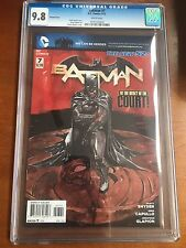Batman #7 CGC 9.8 WHITE PAGES Variant New 52 First Harper Row
