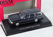 Toyota Mark II Wagon lg año de construcción 1988 azul oscuro 1:43 DISM