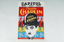 Charlie CHAPLIN in CITY LIGHTS CAPITOL Movie Poster Print US ver. 478k04