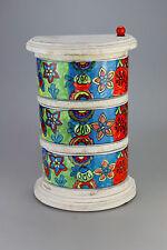 Gewürzschränkchen Keramikkommode mit 3 Schüben - Gall & Zick NEUE KOLLEKTION