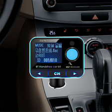 2016 Wireless Bluetooth FM Transmitter MP3 Player Car Kit Audio USB Charger