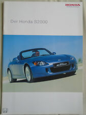 Honda S2000 brochure May 2004 German text