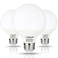 LOHAS LED Globe Lights G25 LED Bulb 9 Watt (60 Watt Equivalent) LED Vanity Li...