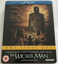 The Wicker Man: The Final Cut Steelbook - UK Exclusive Limited Edition Blu-Ray
