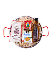 Paella Kit - Set 30cm paella pan+Bomba Rice+Extra Virgin Olive Oil+Spices