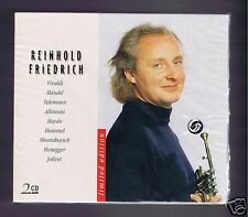 REINHOLD FRIEDRICH 2 CDS SET NEW HIGHLIGHTS / NEVILLE MARRINER/ KOHLER/