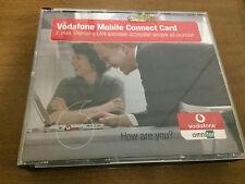 vodafone mobile connect card scheda con cd omnitel