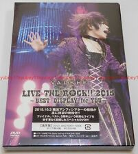 New VALSHE LIVE THE ROCK 2015 BEST DISPLAY for YOU 2 DVD Japan F/S JBBZ-5003