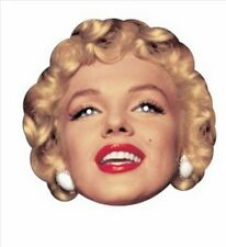 Marilyn Monroe Hollywood 'Sex Symbol' Fun CARD Single Party Face Mask