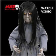 Creepy Animated Doll Zombie Figure Halloween Decoration/Prop Light+Sound SCARY