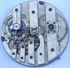 High Grade Moustache Lever Antique Swiss Pocket Watch Movement repair part F1444