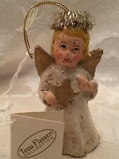 Teena Flanner Angel Victorian Look Christmas Ornament Midwest Of Cannon Falls