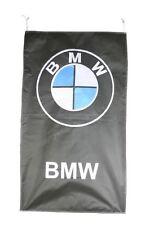 BMW FLAG BANNER  VERTICAL BLACK m3 m5 330 z4 z8 z3 5 X 3 FT 150 X 90 CM