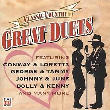 Classic Country - Great Duets by Various Artists (CD, 2004, Time/Life) Like New