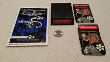 Mattel Intellivision Buzz Bombers with manual and two (2) overlays