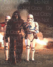 Star Wars The Force Awakens signed Adam Driver 8X10 photo picture autograph RP 3