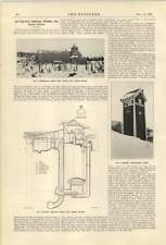 1921 Porjus Fall Powerstation Arctic Circle Electric Railway