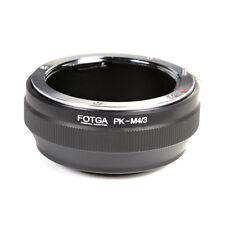 FOTGA Adapter fr Pentax PK Lens to Micro 4/3 Olympus E-M1 E-M5 PanasonicG3 F6 F5