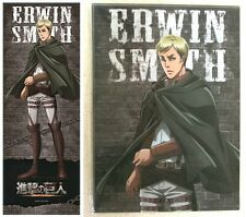 Attack on Titan Open-Close Long Folder Erwin Smith Kodansha Licensed New
