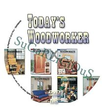 Today's Woodworker Machine Complete Collection from 1989 to 1998 On DVD In PDF