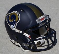 ST. LOUIS RAMS CONCEPT NAVY MATTE SPEED MINI HELMET