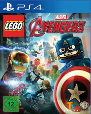 PS4 Spiel LEGO Marvel Avengers (Sony PlayStation 4, 2016, DVD-Box)